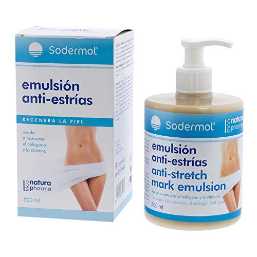 Crema antiestrias ideal para el embarazo/Previene y Reduce la formación estrías y cicatrices/Gel con Rosa Mosqueta regeneradora anti-estrias postparto