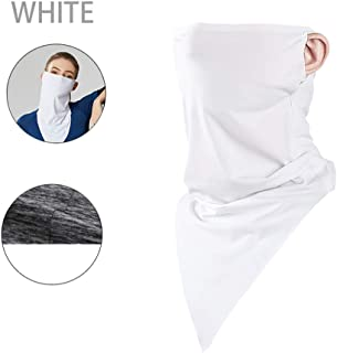 JIESD-Z Summer Face Scarf Mask Breathable Neck Gaiter Comfortable Bicycle Scarf Riding Scarves Dust Sun Protection for Hiking Fishing Cycling Paintball Game