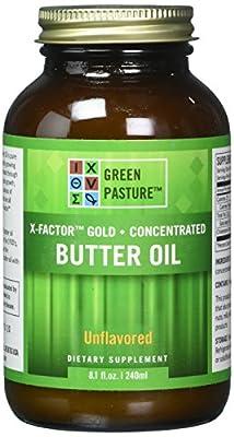 Green Pastures Butter Oil - X-Factor Gold High Vitamin Butter Oil