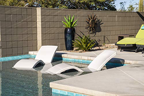 S.R.Smith DS-1-52 Destination Pool Lounger, Individual, Gray