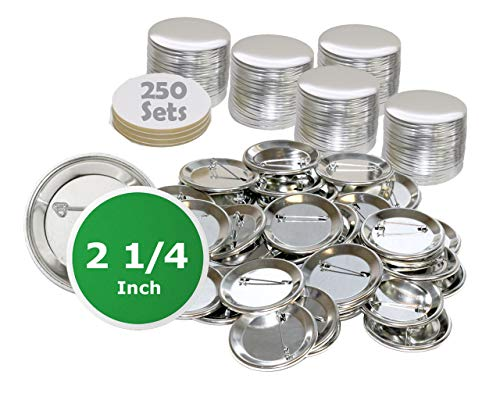 2.25 inch Round BackPin Buttons (25…