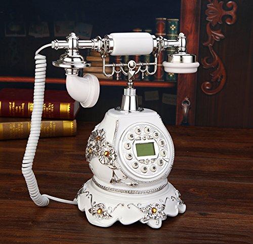 motes uvar Villa, Teléfono, Wireless–Tarjeta, Europea Teléfono, Teléfono Antiguo, blancas Retro–Teléfono