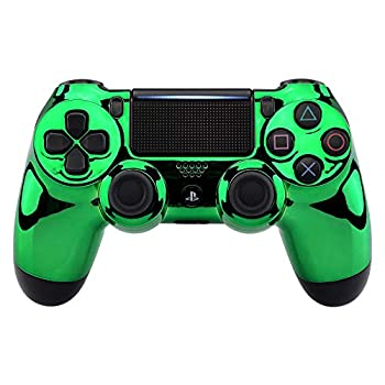 Chrome Green Wireless Custom Controller for Playstation 4 PS4