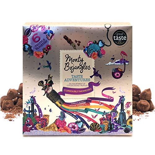 Monty Bojangles Taste Adventures Kakao bestäubt Trüffelsortiment Herrliches Geschenk 315g