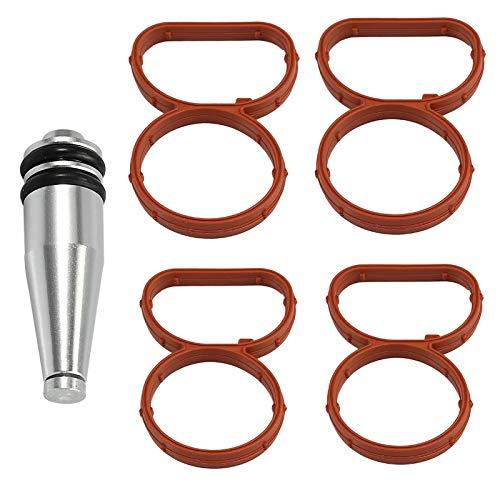 Tapón de metal con junta de colector para N47 11618507239