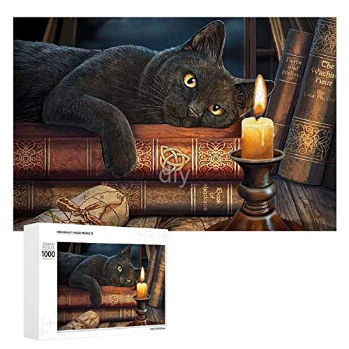 Yohoba Jigsaw Puzzle 1000 Piece The Hour of Magic-up Large Puzzle Game Artwork for Adults Teens for Educational Gift Home Decor (20x30inch)