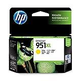 HP CN048AE 951XL Gelb Original Druckerpatrone mit hoher Reichweite für HP Officejet Pro 276dw, 8600, 8610, 8620, 251dw, 8100