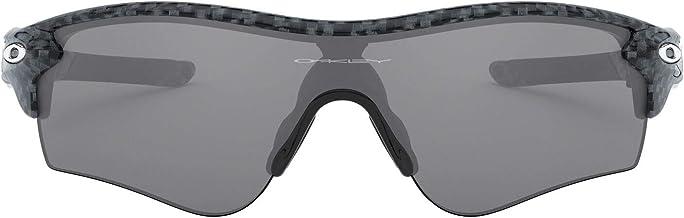Oakley Men's Radarlock Path (a) Non-Polarized Iridium Wrap Sunglasses, Carbon Fiber, 38 mm