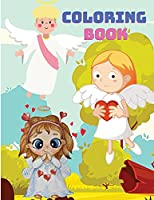 Kids Time: Angel Coloring Book for Kids