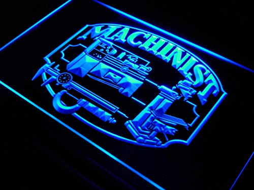 ADV PRO Enseigne Lumineuse j412-b Machinist Repairs Shop Gift New Neon Light Sign