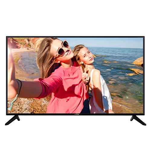 Smart TV mit 4K Auflösung, FHD Crystal Display Fernseher H.265 HD Decodierung Dual Audio Smart TV [Energieeffizienzklasse A +]