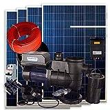 Kit Solar Piscina PlusEnergy + Bomba Depuradora 750 72V 1cv + 4 Paneles Solares + Regulador + Conectores