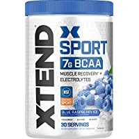 Scivation XTEND 30 Servings Blue Raspberry Ice Sport BCAA Powder