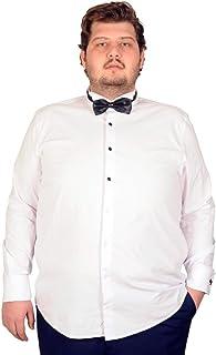 Mode XlBüyük Beden Erkek Ukol Ata Yaka Gömlek 18367