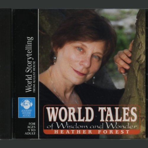 World Tales of Wisdom and Wonder audiobook cover art