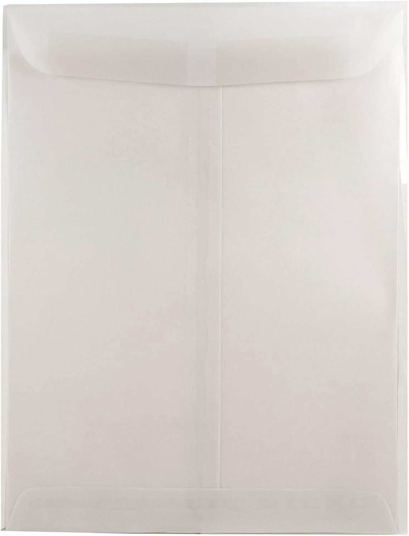 JAM PAPER PAPER PAPER Offenes Ende Katalog Durchscheinende Pergament Umschläge - 228,6 x 304,8 mm - Klar - 25 Packung B071VJPT3K | Qualität Produkte  71cd8d