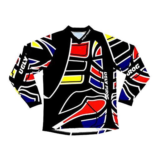 Uglyfrog Mountain Bike Motocross Jersey Camiseta de Equipos