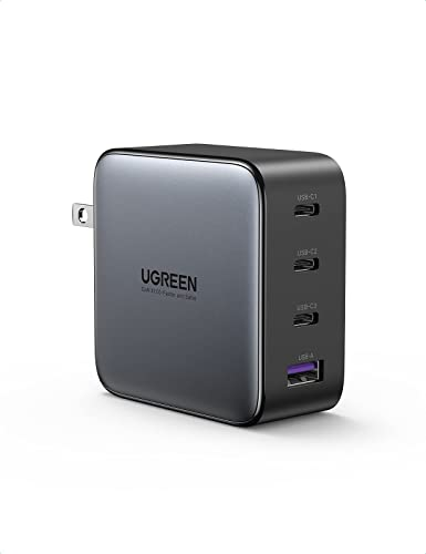 high quality UGREEN 100W USB C Multiport Charger - 4-Port USB Charging online Station GaN Fast Charger Power Adapter Compatible for MacBook Pro/Air, Dell XPS, iPad high quality Pro, Galaxy S21/S20, iPhone 12/12 Pro, Pixel, and More sale