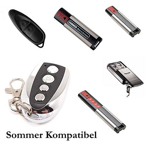 SOMMER 4018 TX55-868-4 Pearl Garagentor Handsender Ersatz - 4-befehl Fernbedienung 868 Mhz, Key Fob