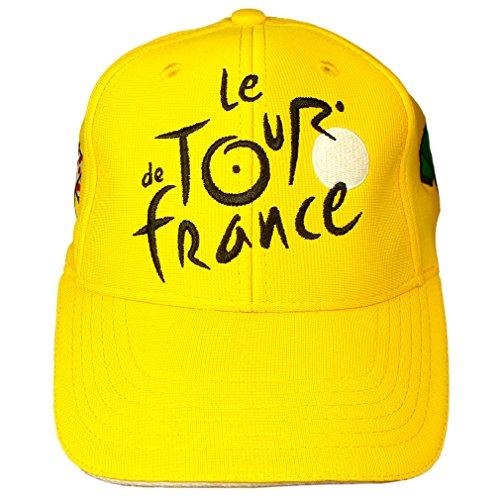 Casquette Homme Tour de France Officielle - Jaune