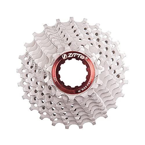 Yaobuyao Vuelo del Casete De 9 Velocidades, 11-25T Cassette Fit para Bicicleta De Montaña, Bicicleta De Carretera, MTB, BMX