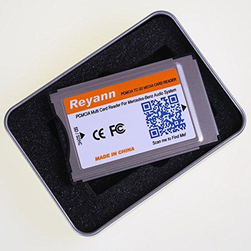 Reyann 16GB SD Karte + PCMCIA zur SD-PC-Kartenadapter Unterstützung 32GB SDHC für Benz Comand APS C197 W212 W204 W221 W207