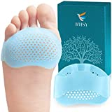 MHSY Metatarsal Pads for Women and Men, 4PCS Ball of Foot Cushions for Metatarsalgia Neuroma Mortons Neuroma Pads Atrophy Burning Sensations Relieve Pain