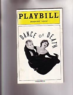 Dance of Death-NYC Broadway Playbill Broadhurst Theatre 2001