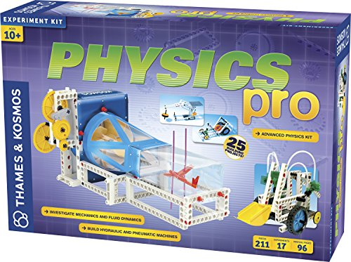 T&K Deluxe Physics Pro Advanced Science Kit - Includes 17 Experiments!