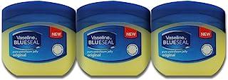 Vaseline Petroleum Jelly Travel Size Pure BlueSeal Original 1.7oz (50ml) (3 Pack)