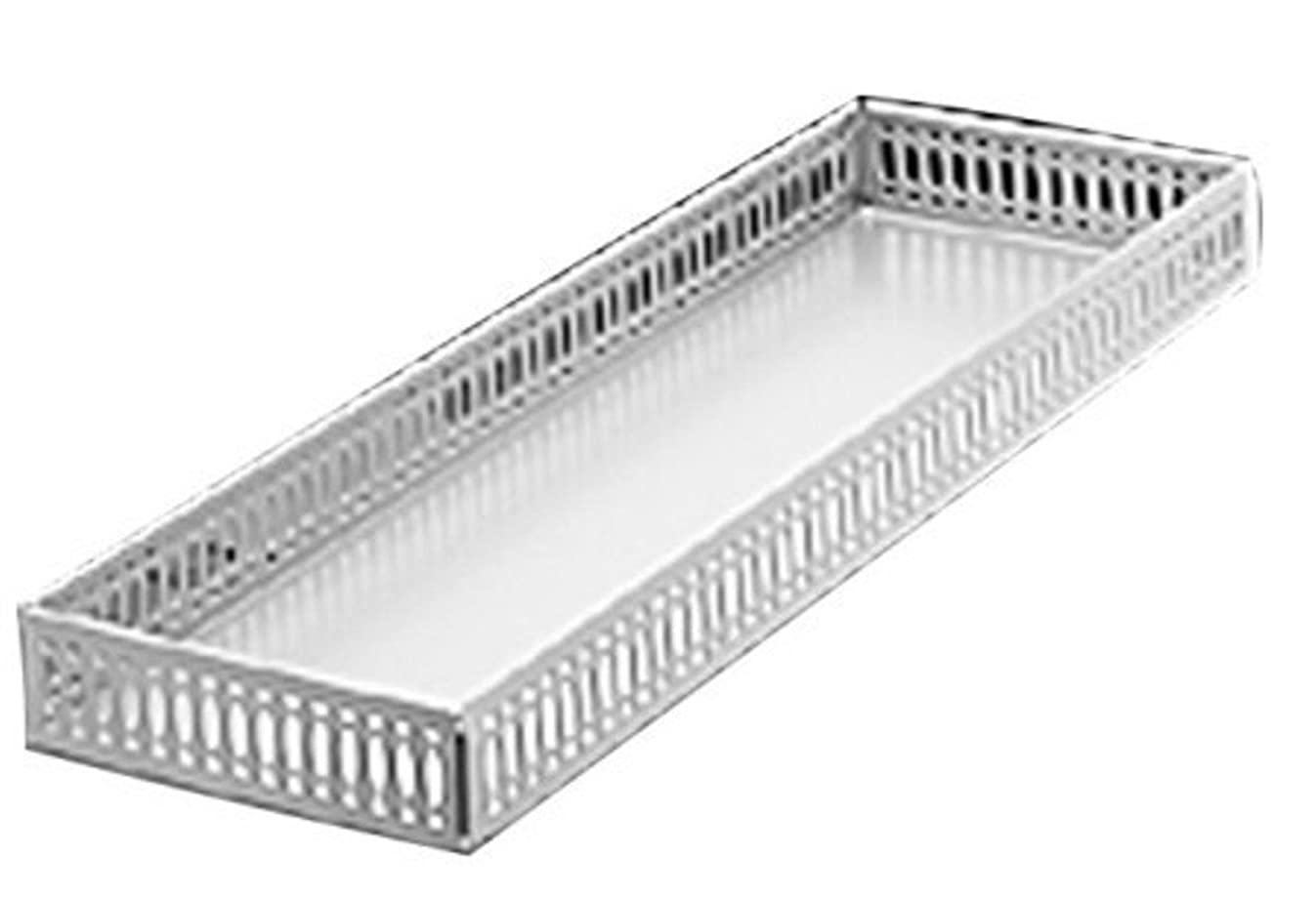 Taymor 02-D1090 Chrome Large Vanity Tray