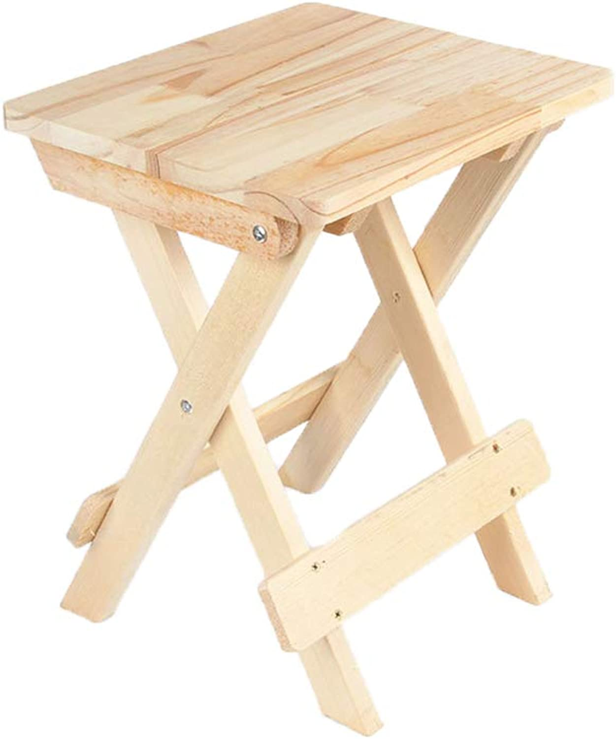 YQQ Educational Equipment Wooden Folding Stool Solid Wood Square Stool Sketch Stool Square Stool Sketch Chair Painting Art