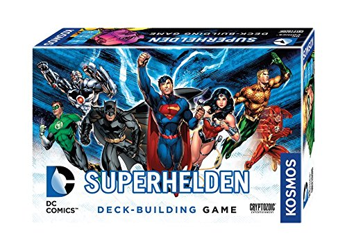 Kosmos Spiele 692582 - DC Superhelden, Deck-Building Game