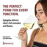Spiegelau & Nachtmann, 4-teiliges Weißweinglas-Set, Kristallglas, 440 ml, Style, 4670182 - 9