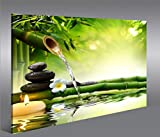 islandburner Cuadro en Lienzo Wasser Zen V3 1p Impresión sobre...