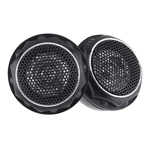 ePathChina 2pcs 140W T280 High Efficiency Mini Dome Tweeter Speakers for...