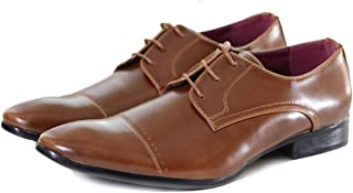 Formal Derby Shoes with Lace-Up Closure