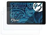 Bruni Schutzfolie kompatibel mit Medion LIFETAB P10602 MD60519 Folie, glasklare Bildschirmschutzfolie (2X)