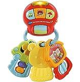VTECH- HOCHET P'TITES CLES Magiques Baby Jouet Premier Age, 80-505105, Multicolore - Version FR