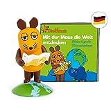 tonies Hörfiguren für Toniebox - Die Maus - Mit der Maus die Welt entdecken - ca. 33 Min. - Ab 3 Jahre -DEUTSCH