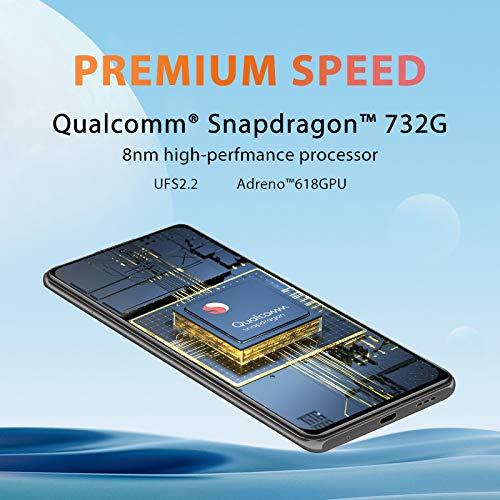 Xiaomi Redmi Note 10 Pro Smartphone,8 GB 128 GB Telefono Cellulare,Display AMOLED da 6,67 Pollici,Qualcomm® Snapdragon ™ 732G,Fotocamera Quadrupla,Versione Globale(Grigio)