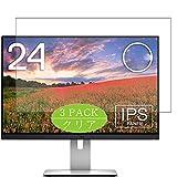 Vaxson 3 Stück Schutzfolie kompatibel mit Dell Monitor 24' U2415, Displayschutzfolie Bildschirmschutz Blasenfreies [nicht Panzerglas]