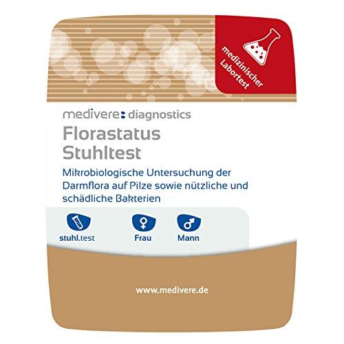 Medivere Florastatus Stuhltest zur Darmflora Untersuchung