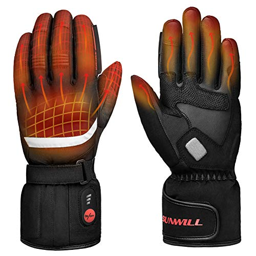 Sun Will Heated Gloves for Motorcycle and Snowboarding