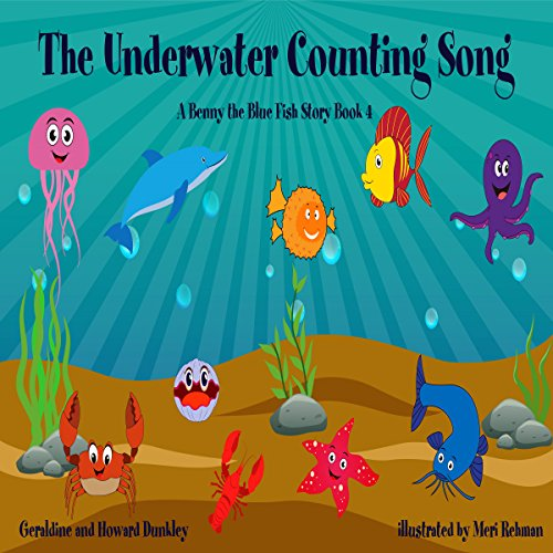 The Underwater Counting Song audiobook cover art