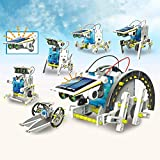 Smarty Toys Educational Mechanical Power Creative Building 13 in 1 Solar Robot Kit Learning Toy for Kids