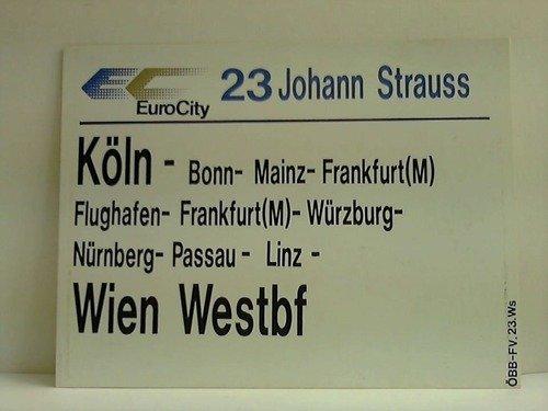 """EuroCity 23 \""""Johann Strauss\"""""""