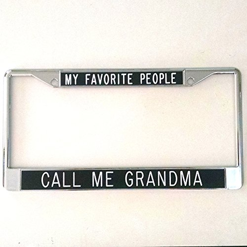 Speedy Pros Happiness is Being A Grandparent License Plate Frame Tag Holder