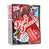 Dolci Frutta Party Kit with Chocolate and White Chocolate Microwaveable Shells and Drizzlers,...
