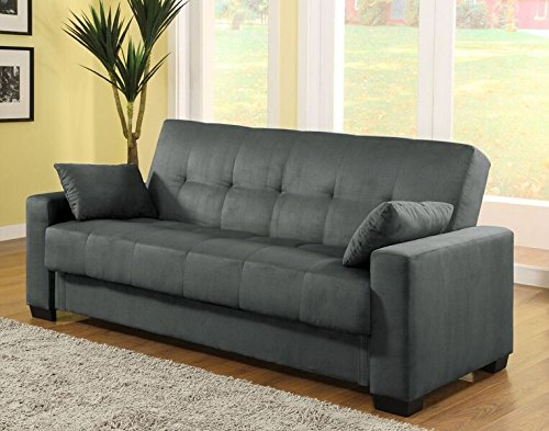 Pearington Soho Sofa and Couch Sleeper Bed with Storage, Grey